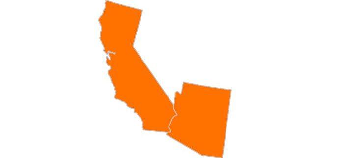 California vs. Arizona