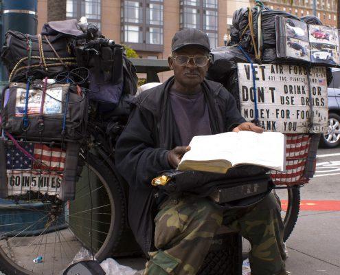 Homeless Vet via yummyporky on Flickr