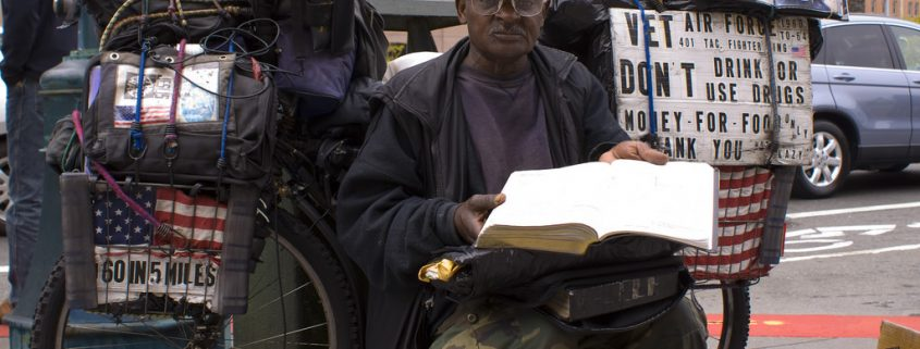 Homeless Vet via yummyporky on Flickr